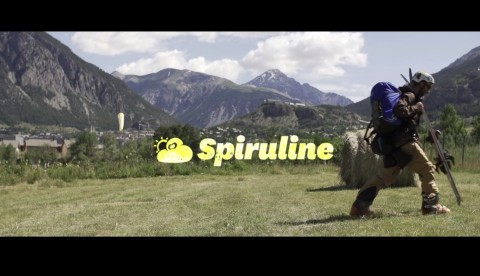 New commercial for the Little Cloud Spiruline glider