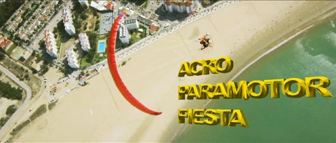 Have fun with François Ragolski in Spain during the first acro paramotor festival